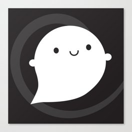 Spooky Wooky Ghost Canvas Print