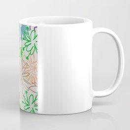Drawn Flowers Coffee Mug