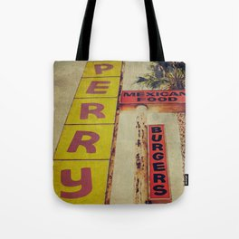 Perry's Vintage Sign Tote Bag