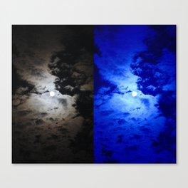 Moon Lighting  Canvas Print