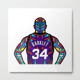 Charles Barkley Metal Print