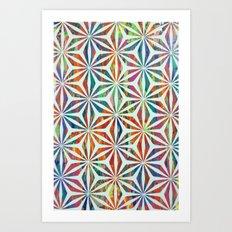 The Benz Art Print