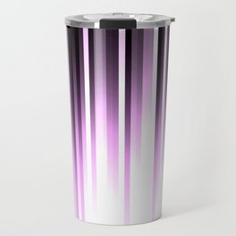 Ultra violet madness, dark shades lines print Travel Mug