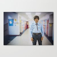 napoleon dynamite Canvas Prints featuring Napoleon Dynamite by TJAguilar Photos