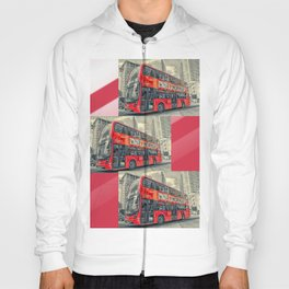 London Mormon Red Bus Hoody