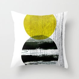 geometric design Throw Pillow