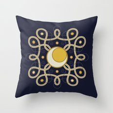 Celestial Convergence Throw Pillow