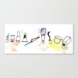 Make Artist Lover Canvas Print