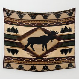 American Native Pattern No. 197 Wall Tapestry