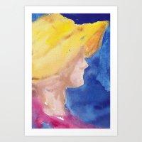 Girl No. 2 Art Print