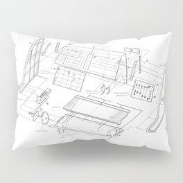 Korg MS-10 - exploded diagram Pillow Sham