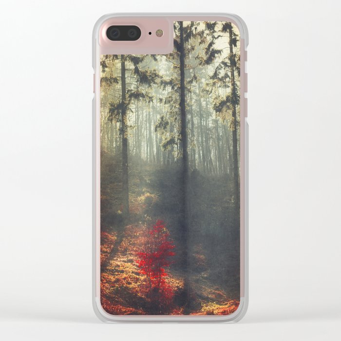 weight of light Clear iPhone Case