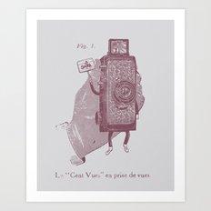 Cent Vues Art Print
