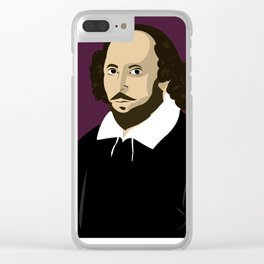 Shakespeare Clear iPhone Case