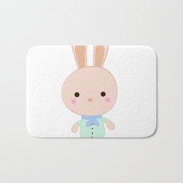 Kids cute cartoon bunny Bath Mat