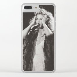 Stevie Nicks Clear iPhone Case