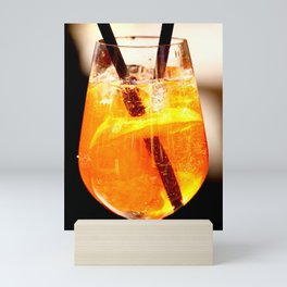 Cheers! Cocktail Drink #decor #society6 Mini Art Print