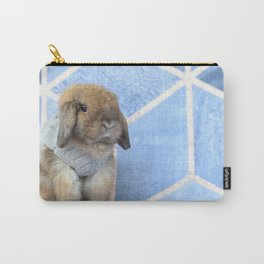 Bunny posing Carry-All Pouch