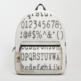 Vintage Office - Writers Block Backpack