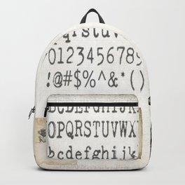Vintage Office - Writers Block Backpack