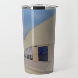 Building Of The Future From A Forgotten Past Travel Mug