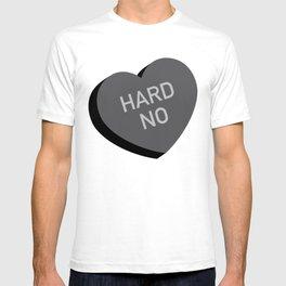 Candy Heart - Hard No T-shirt