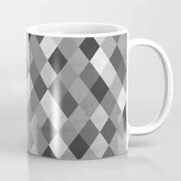 Black and White Harlequin Coffee Mug