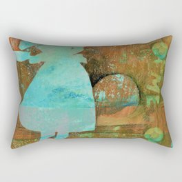 June Cleaver can throw a party Rectangular Pillow