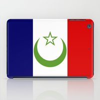casablanca iPad Cases featuring French Morocco flag by tony tudor