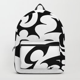 abstract swirl Backpack