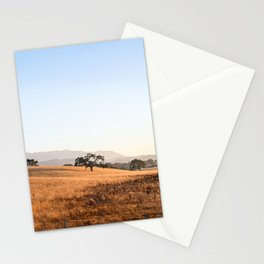 California Gold Stationery Cards