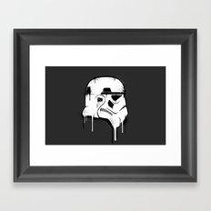 Stencil Trooper - Star Wars Framed Art Print