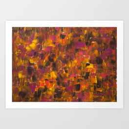 Warm Summer Sunset Art Print