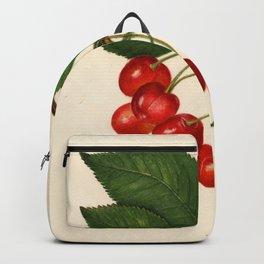 Vintage Illustration of a Cherries Backpack
