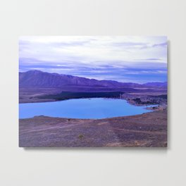 Lake Tekapo Metal Print