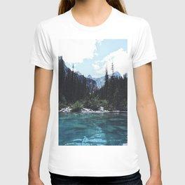 Glacier Creek, Moraine lake Banff T-shirt