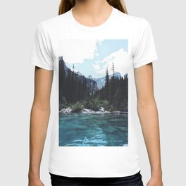 Glacier Creek, Moraine lake Banff T-shirt