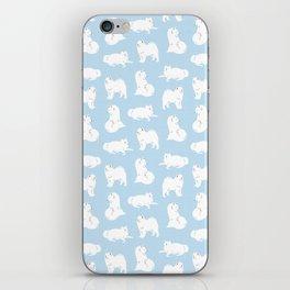Samoyeds Print iPhone Skin