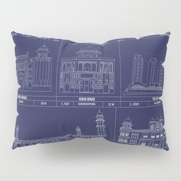 The Architecture of Pakistan Pillow Sham