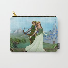 Zelda and link iPhone 4 5 6 7 case, pillow case, mugs and tshirt Carry-All Pouch