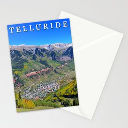 Telluride town Stationery Cards