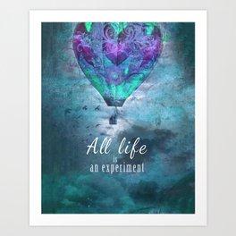 All life... Art Print