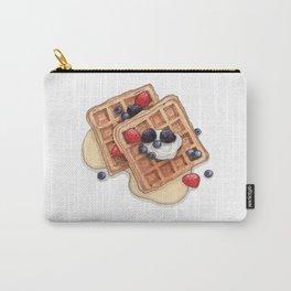 Breakfast & Brunch: Waffles Carry-All Pouch