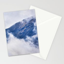 Cloudy Mountain in Haleakala National Park Stationery Cards