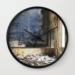 Where there is darkness there is light Wall Clock