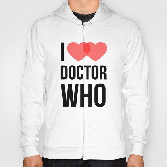 I ♥♥ Doctor Who Hoody