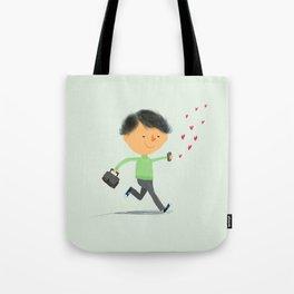 Boy in Love #3 Tote Bag