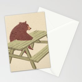 Waiting for the waiter Stationery Cards