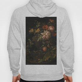 Flowers, Lizards and Insects - Elias van den Broeck (1650-1708) Hoody