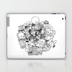 The princess has baked a cake (3D papercut) Laptop & iPad Skin